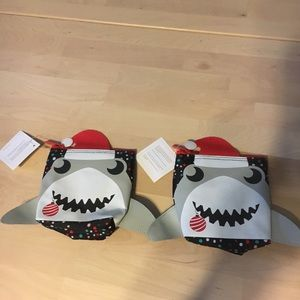 Insulated snack bag - Shark holiday